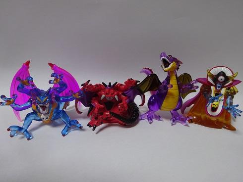 ドラゴンクエスト クリスタルモンスターズ 竜王 ゾーマ シドーなど 新品★ グッズの画像