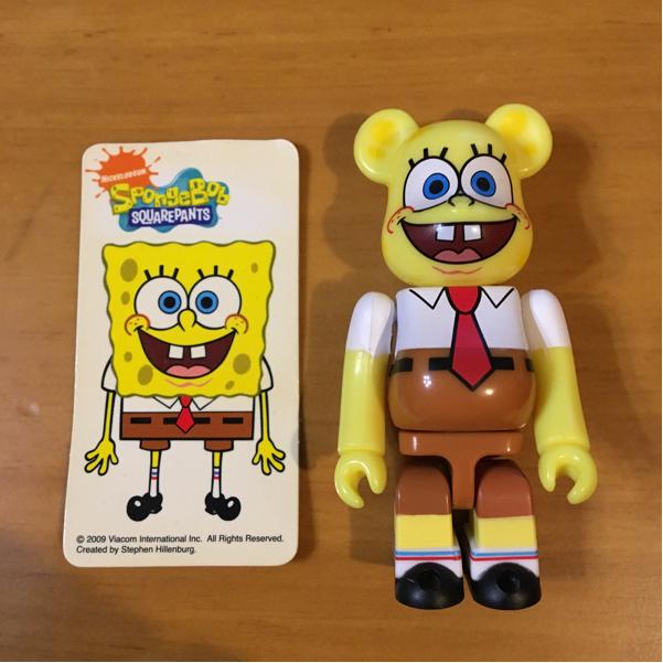 スポンジボブ ベアブリック spongebob be@rbrick グッズの画像