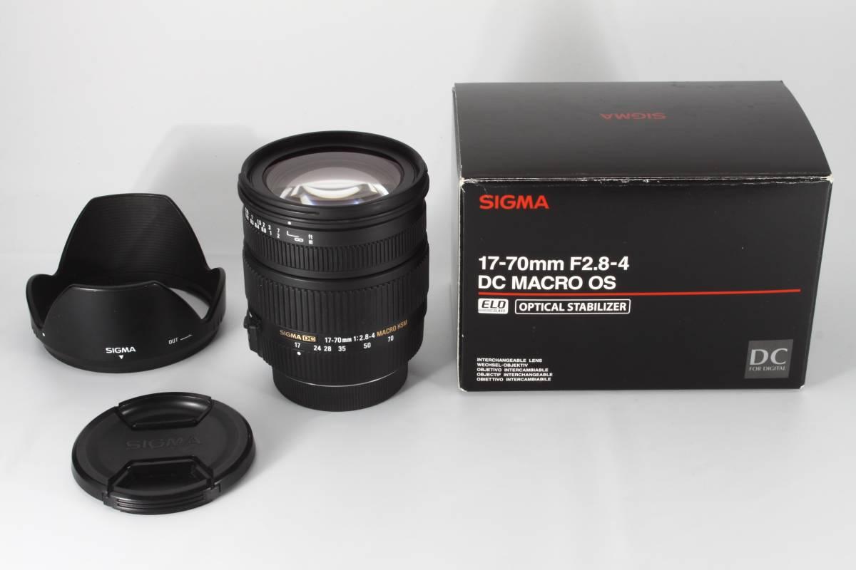 ★驚愕の新品級★SIGMA 17-70mm F2.8-4 DC MACRO OS HSM Pentax ★完動品★ ペンタックス #226