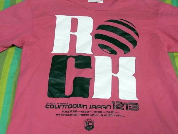 COUNTDOWN JAPAN Tシャツ サイズ:XL ピンク カウントダウンジャパン ライブグッズの画像