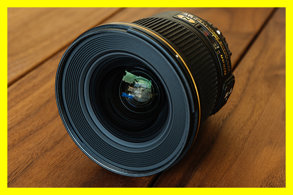★★★ 【美品】 Nikon ニコン AF-S NIKKOR 20mm f/1.8G ED 明るく 寄れる 軽量 高画質 超広角 単焦点 レンズ ★★★
