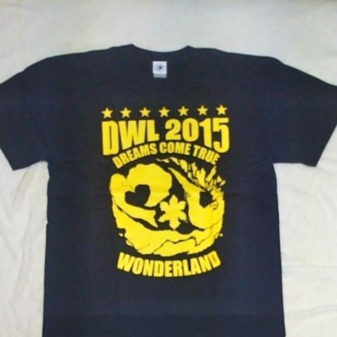 ドリカムワンダーランド2015 ツアーTシャツ Lサイズ 新品未使用品