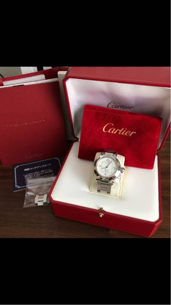 カルティエ(Cartier) パシャC ビッグデイト 超美品_画像1
