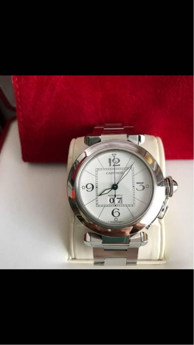 カルティエ(Cartier) パシャC ビッグデイト 超美品_画像2