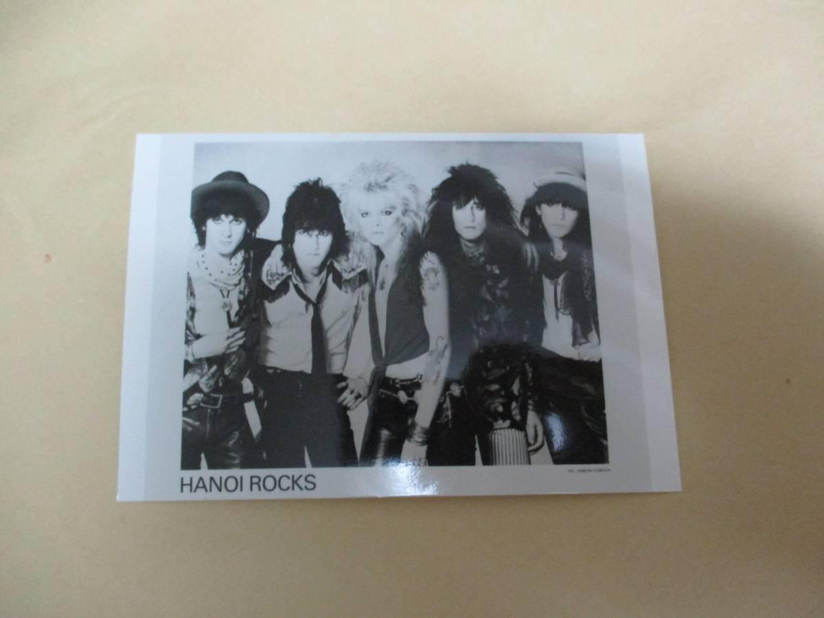 宣伝用写真 ハノイロックス HANOI ROCKS ●●
