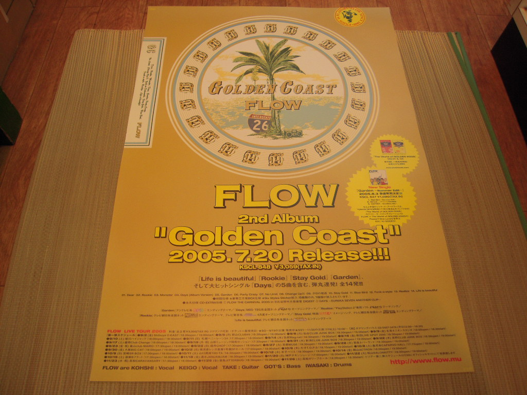 ポスター: FLOW「Golden Coast」
