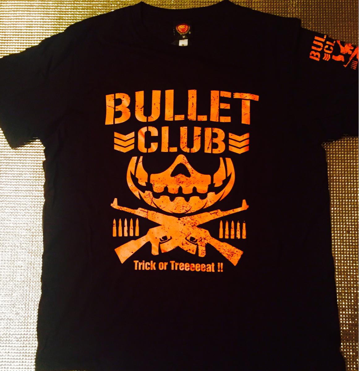 ■新日本プロレス■BULLET CLUB・ハロウィーンTシャツ /Mサイズ○ケニー・オメガ グッズの画像