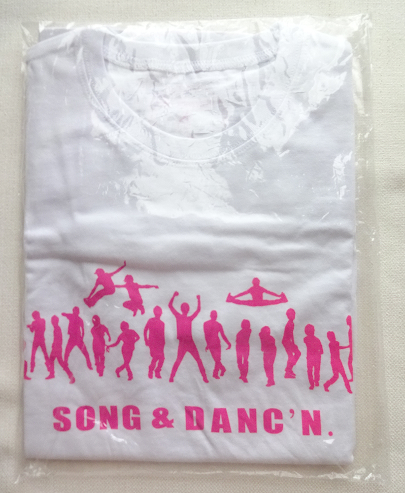 PLAYZONE2011 SONG&DANC'N Tシャツ 今井翼、屋良朝幸、A.B.C-Z、They武道(宇宙six)、ジャニーズJr.