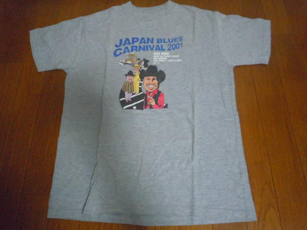 Tシャツ◆ジャパンブルースカーニバル2001◆OTIS RUSH
