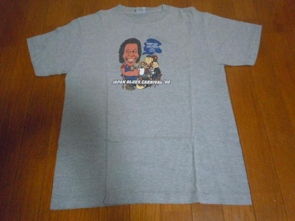 Tシャツ◆ジャパンブルースカーニバル2002◆BUDDY GUYバディガイ