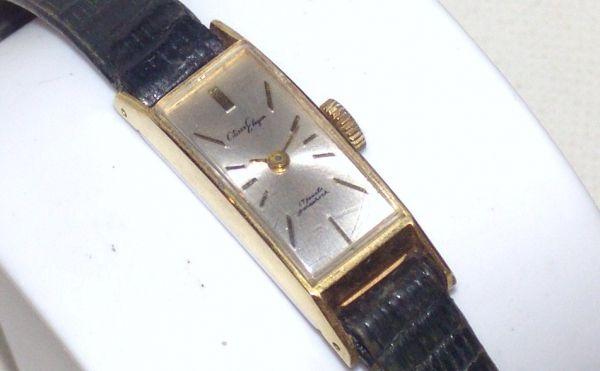 CITIZEN(シチズン) Elegan アンティーク レディス腕時計 E4701 手巻き/17石 815101BL384EC05_画像1