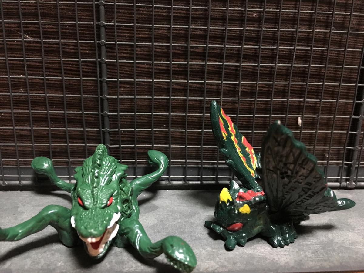 ゴジラ 怪獣 バトラ ビオランテ フィギュア グッズの画像