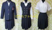 8-154☆コスプレ衣装(ブレザー制服・夏冬セット・高田HS
