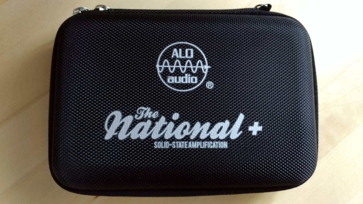 ALO Audio The National+ (2.5mm to 3.5mm ケーブル付ALO)(フルディスクリート・ポタアン)(検 JH AUDIO ASTELL fiio campfire audio)_画像2