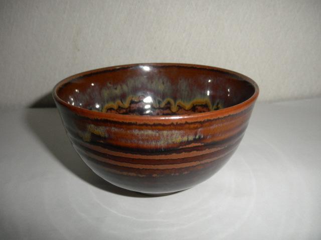 @@九州の焼きもの 高取焼 高取 雪山窯 小茶碗 茶道具 茶陶 飴釉の魅力 _画像1
