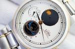 H25■レア希少 CITIZEN シチズン CLUB LA MER ムーンサイン紳士メンズ男性腕時計  純正ベルト ムーンフェイズクォーツ4360-432282税込