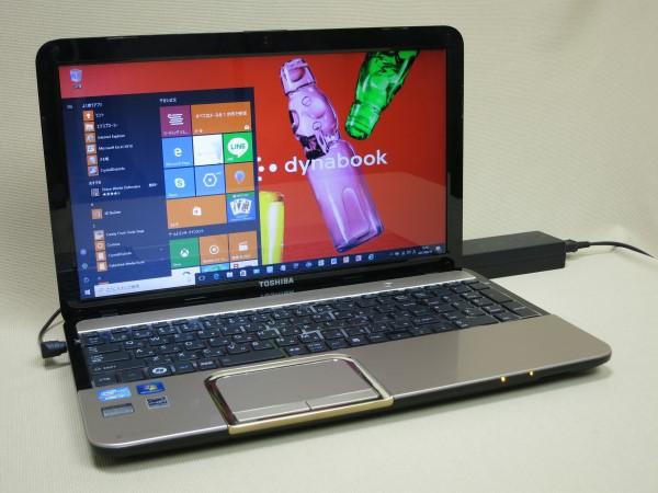 スパークルゴールドの逸品,爆速SSD,高速Corei7-3630QM,ブルーレイ搭載,Win10/office/Wi-f