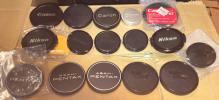 ★★ライカ、ペンも!★カメラ メーカー品のみ レンズキャップ29個セット!ニコン、キャノン