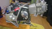 武川コンプリートエンジン 138cc スーパーヘッド
