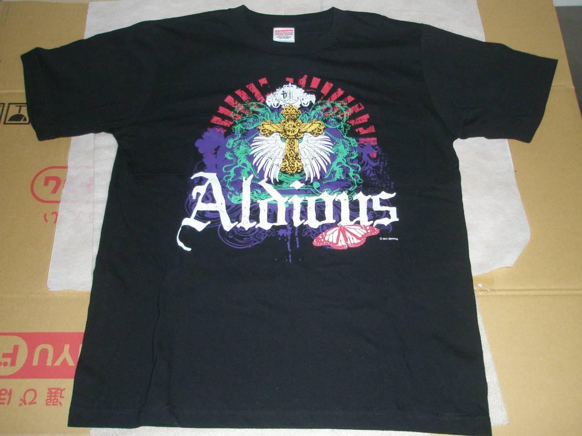 Aldious Determination Tour 2011 Tシャツ Mサイズ アルディアス 古着 Rami在籍時