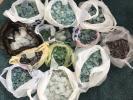 シーグラス・自然採取 カラー・サイズ色々詰め合わせ48㎏