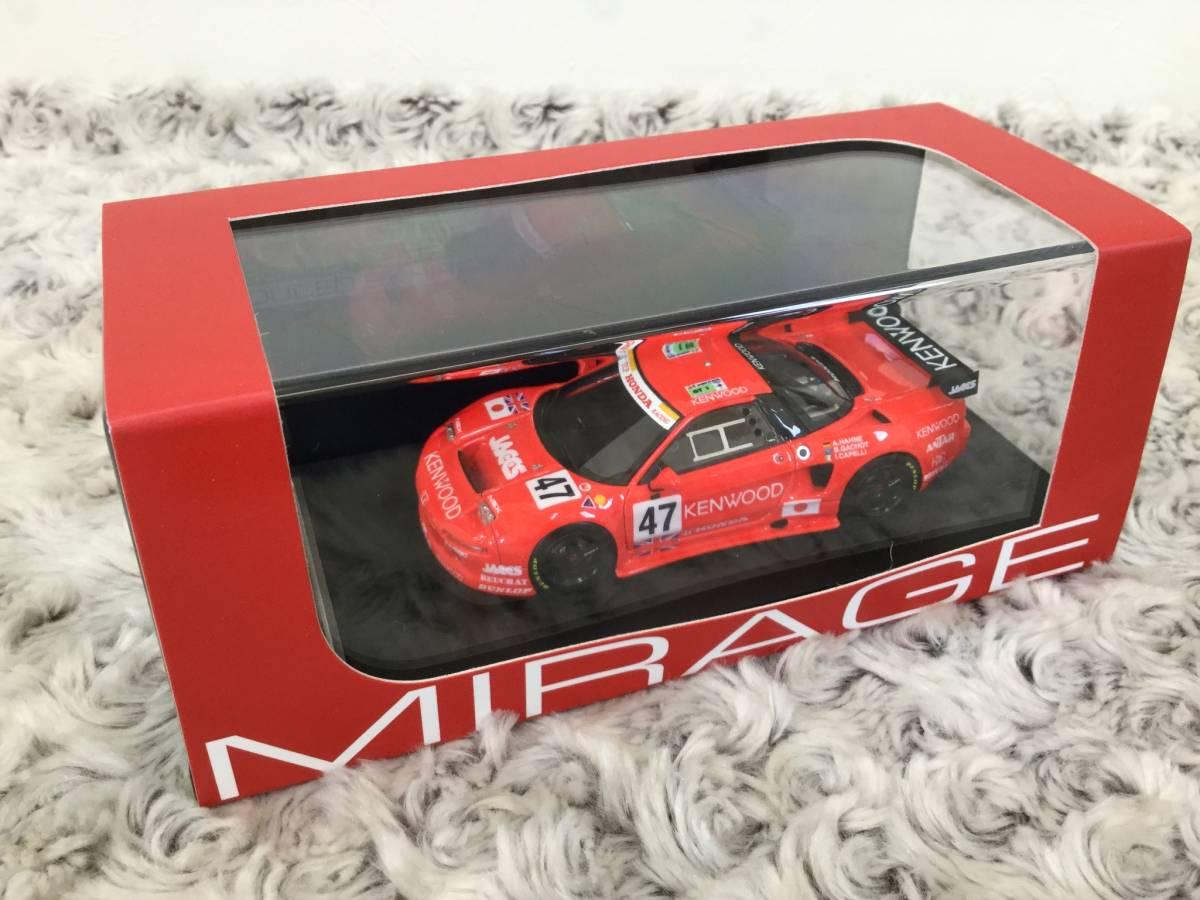 安値スタート!hpi.racing 1/43 Honda NSX・ 新品格安出品!