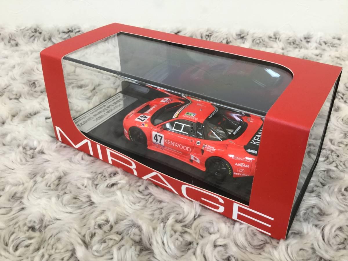 安値スタート!hpi.racing 1/43 Honda NSX・ 新品格安出品!_画像2
