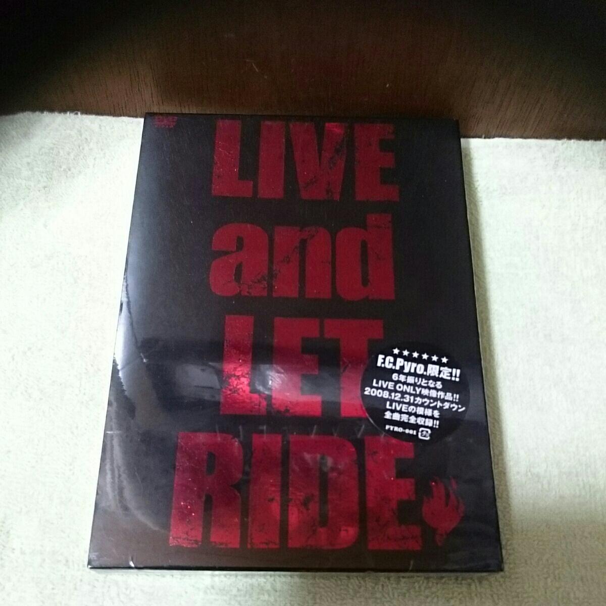 【新品】DVD LIVE and LET RIDE J (LUNA SEA)ジェイ FC限定 レア品 ライブグッズの画像