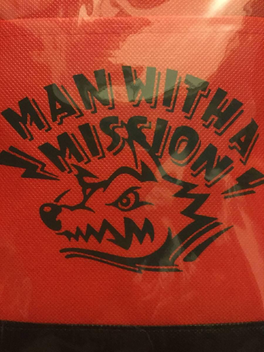 MAN WITH A MISSION トートバッグ ジャン・ケン・ジョニー マンウィズ MWAM ジャンケン マンウィーズ 福袋 フェンダー アゴ メッセンジャー
