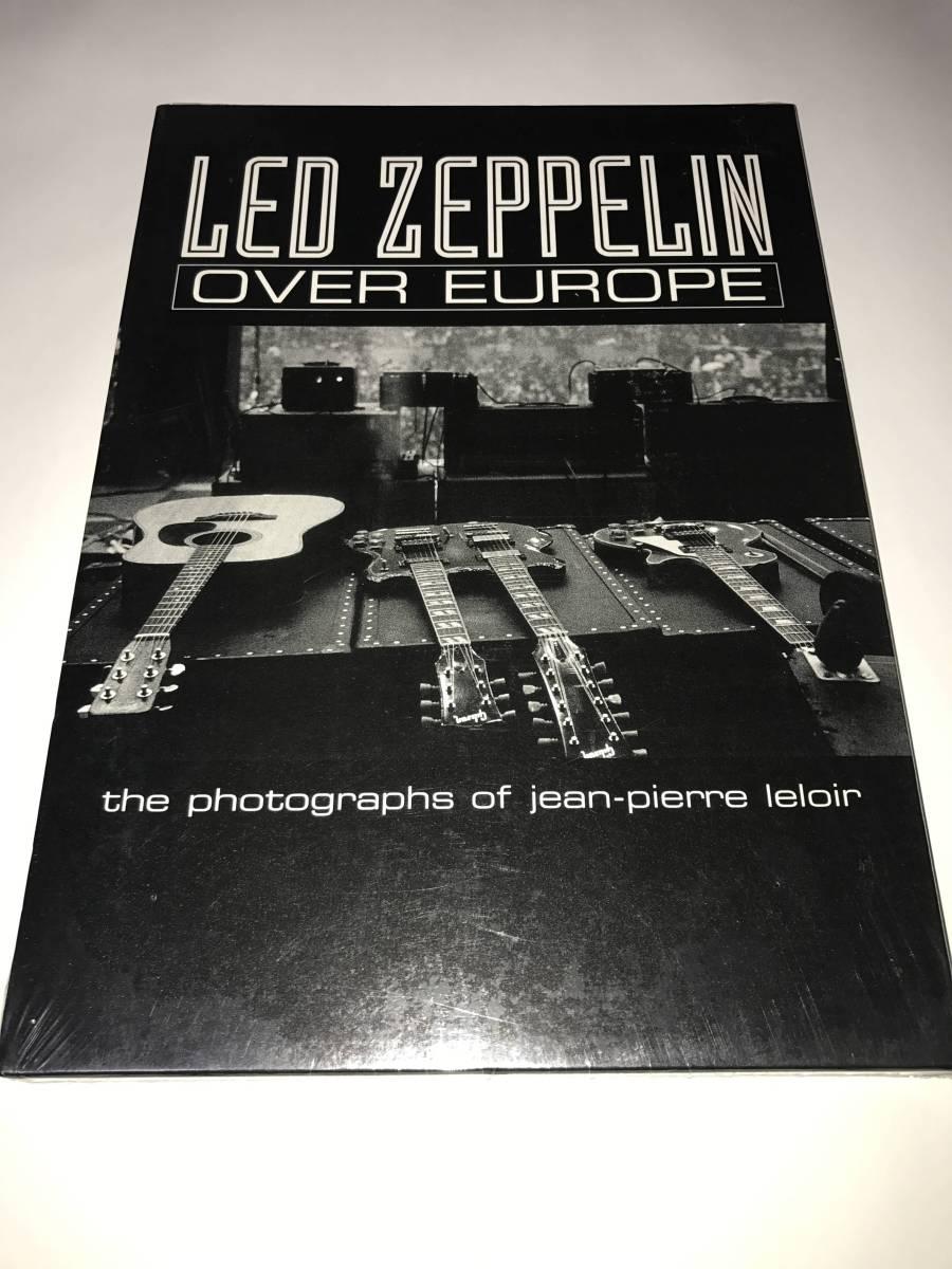 写真集 LED ZEPPELIN / OVER EUROPE the photographs of jean-pierre leloir レッド・ツェッペリン / オーバー・ヨーロッパ