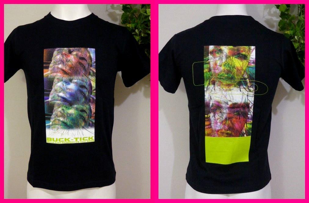 BUCK-TICK バクチク【新品Tシャツ】15・レディースS-M 『Mona Lisa OVERDRIVE TOUR 2003』 13枚目のアルバム バクチク大量出品中♪