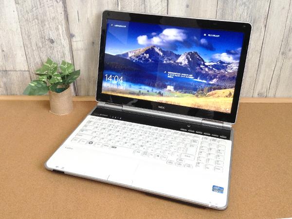 ☆美品☆最上級CPU☆ブルーレイ搭載♪高音質YAMAHA製スピーカー♪ NEC LaVie Windows10 Core i7 8GB 【新品SSD 240GB】Office2010 特典有☆