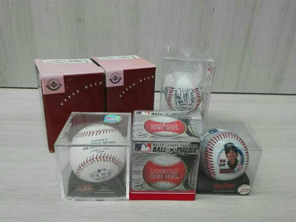 メジャーリーグ 記念ボールセット ボール×パズル 日米野球 松井秀喜