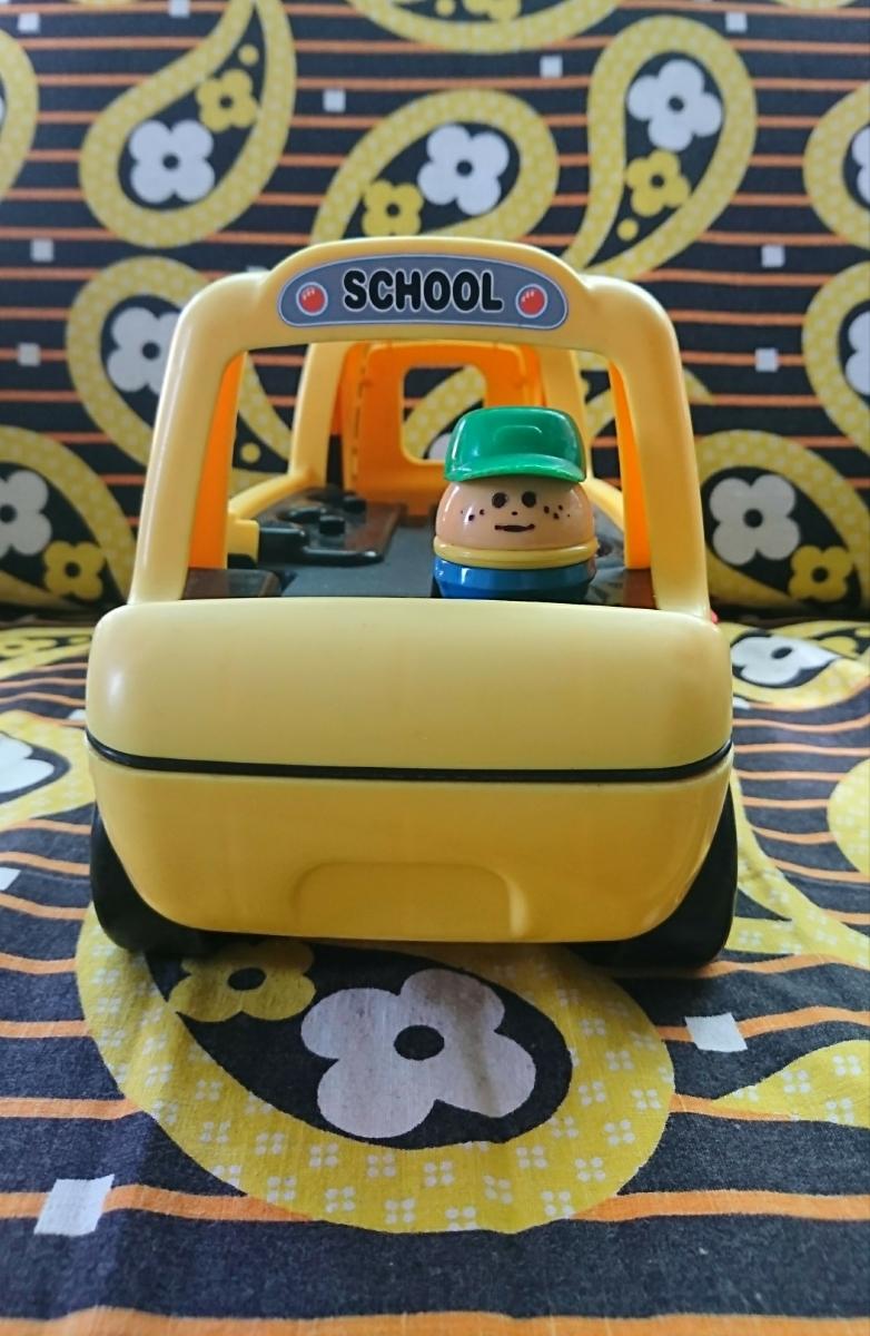 リトルタイクス トドルトッツ littletikes トイストーリー おもちゃ バス スクールバス 運転手 セット ディズニーグッズの画像