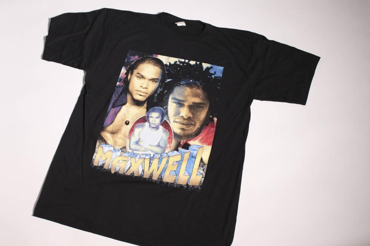 VINTAGE 90's MAXWELL FORTUNATE TEE Tシャツ RAP TEE R&B TEE SIZE XL マックスウェル dead stock
