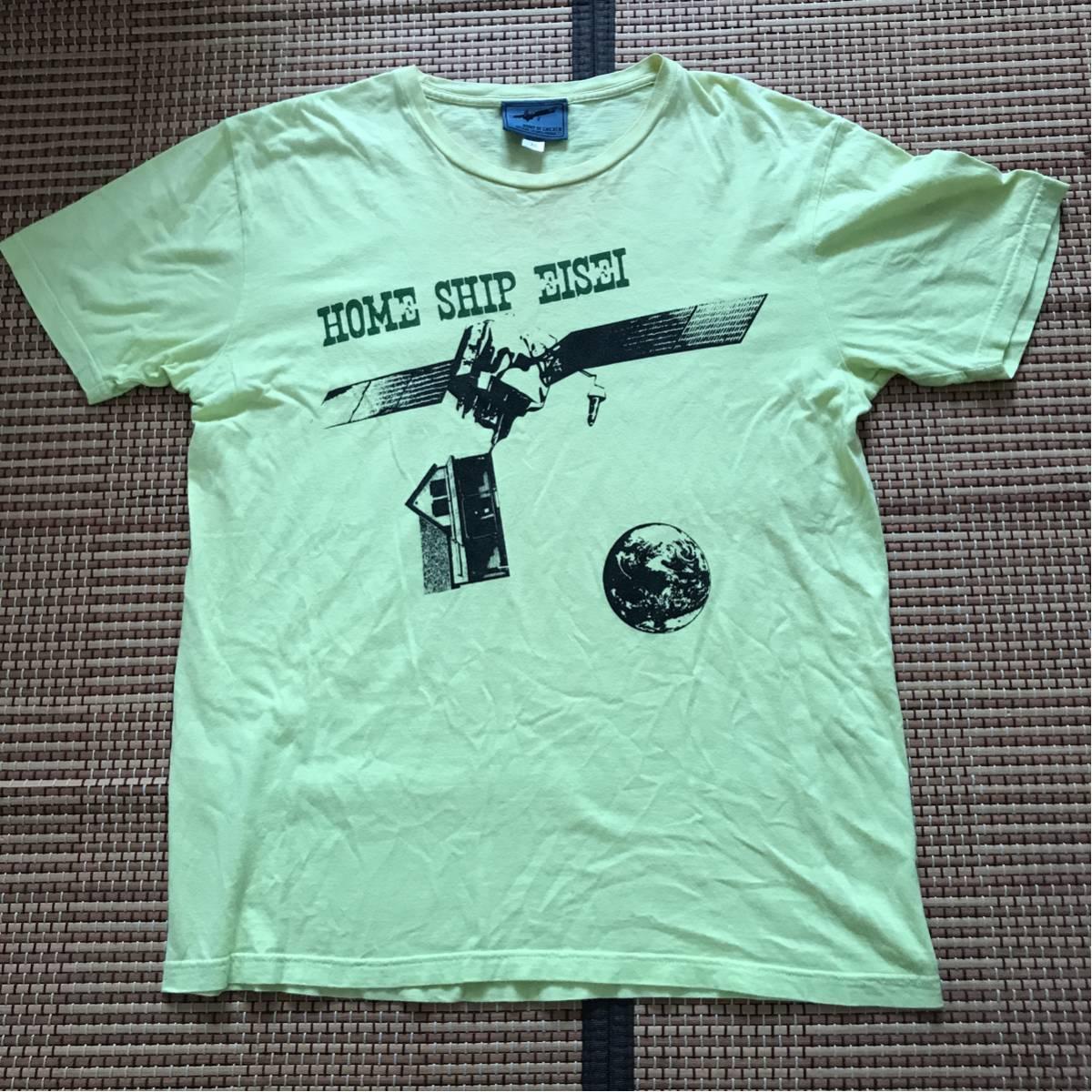 バンプオプチキン ツアーTシャツ BUMP OF CHICKEN 2008TOUR HOME SHIP EISEI バンプ バンドTシャツ ライブグッズの画像