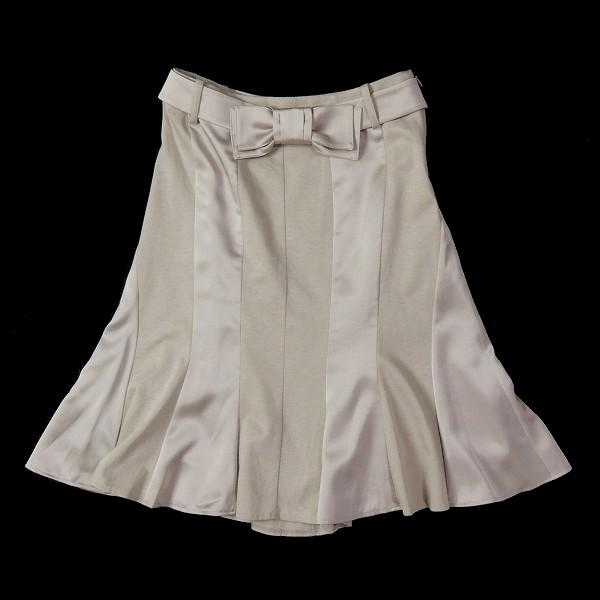 トゥービーシック TO BE CHIC リボンベルトスカート [34C0201]