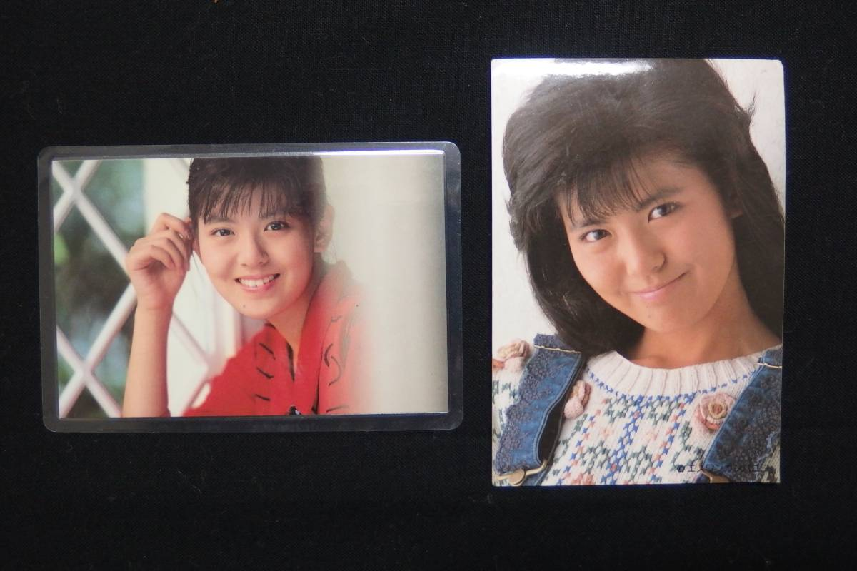 ☆80年代アイドル☆ 南野陽子 NANNO ナンノ ブロマイド&ステッカー ☆美品・保管品☆ グッズの画像