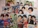 ☆TVガイドからの切り抜き/嵐/櫻井・松本・大野・二宮・相葉/VS嵐ガイド/約100頁