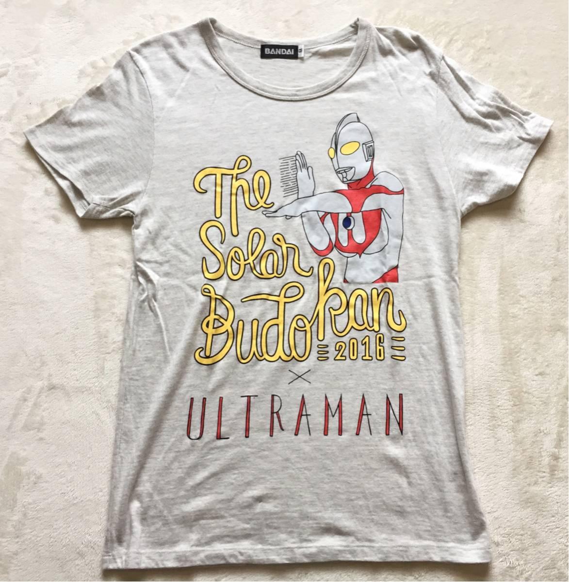 【貴重】中津川ソーラー ブドウカン 2016 コラボ 限定 ウルトラマン 半袖 Tシャツ M グッズ