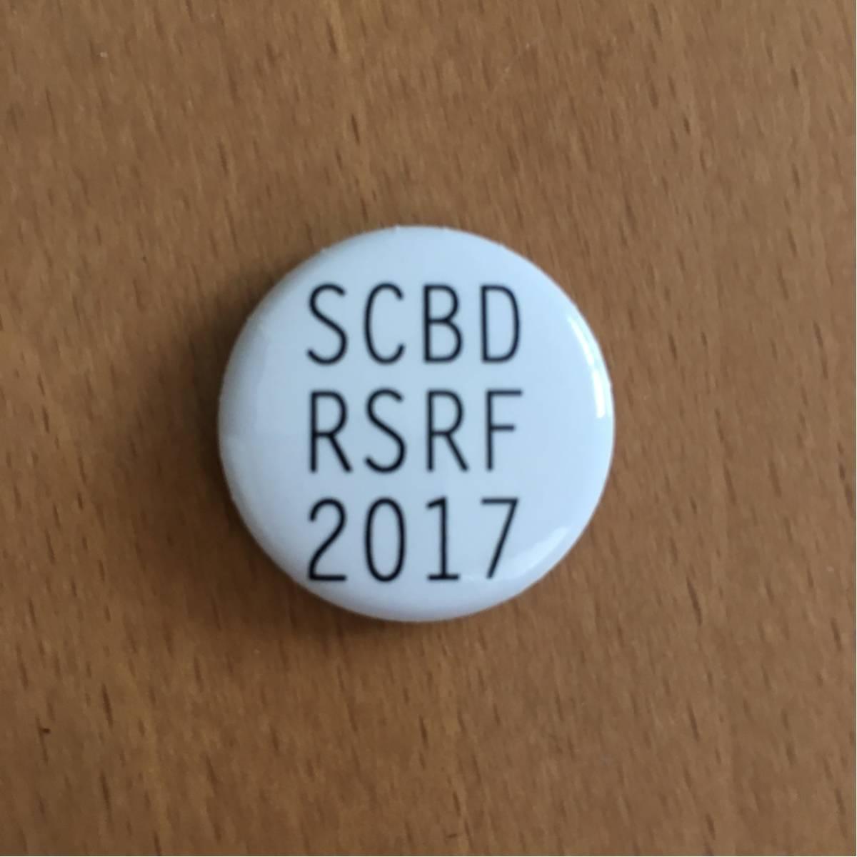 Scoobie Do スクービードゥ ライジングサンロックフェスティバル2017 ガチャ 缶バッジ RSR