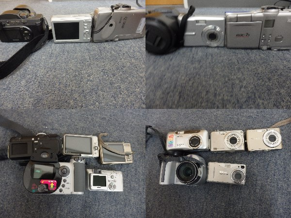 デジカメ 15台まとめセット EX-ZR300 IXY 25 IS 910 IS Nikon Canon 等々 ジャンク扱