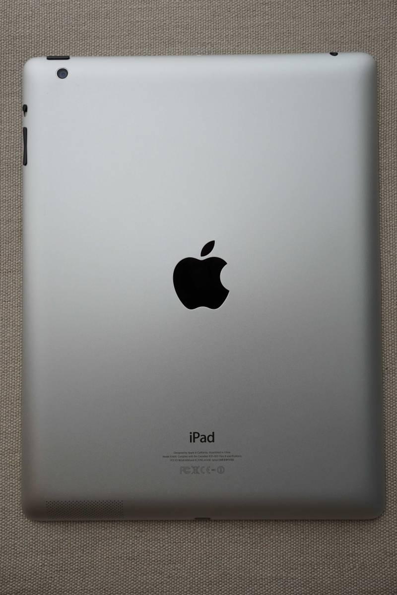 iPad 4 第4世代 Retina ディスプレイ Wi-Fi モデル 32GB ブラック 黒 MD511J/A_画像2