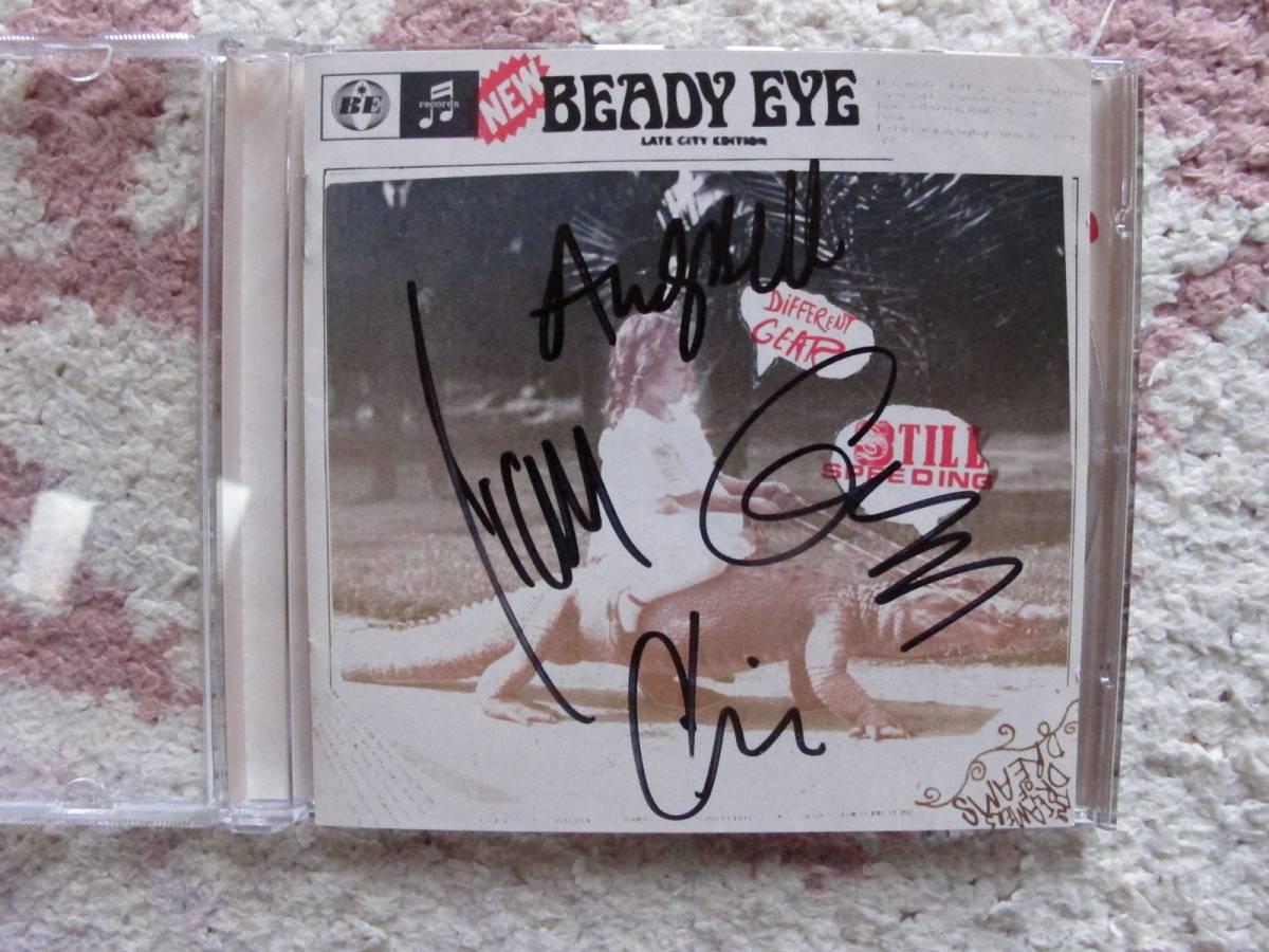 ビーディ・アイ(Beady Eye) 直筆サイン入りCD