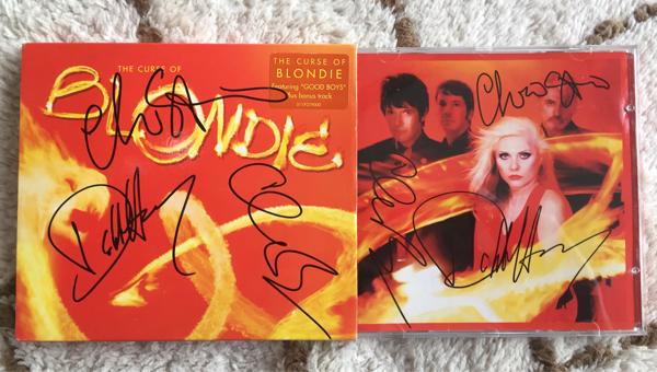 ブロンディ (Blondie)直筆サイン入りCD