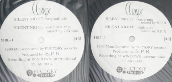 C.G mix LP3枚セット 「Luner Dance」「SILENT NIGHT」「cry your eyes -FREE TO GO OR STAY-」_画像2