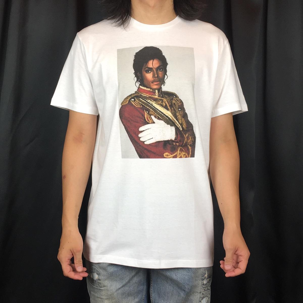 新品 マイケルジャクソン Tシャツ S M L XL スリラー ムーンウォーク マドンナ 大きい ビッグ オーバー サイズ XXL 3XL 4XL 5XL ロンT 長袖 ライブグッズの画像
