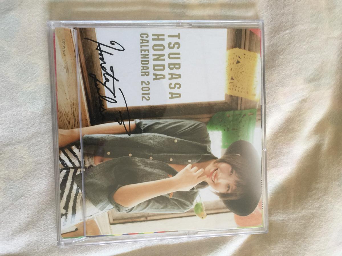 【美品 本田翼 卓上カレンダー2012 〔サイン入り〕 グッズの画像
