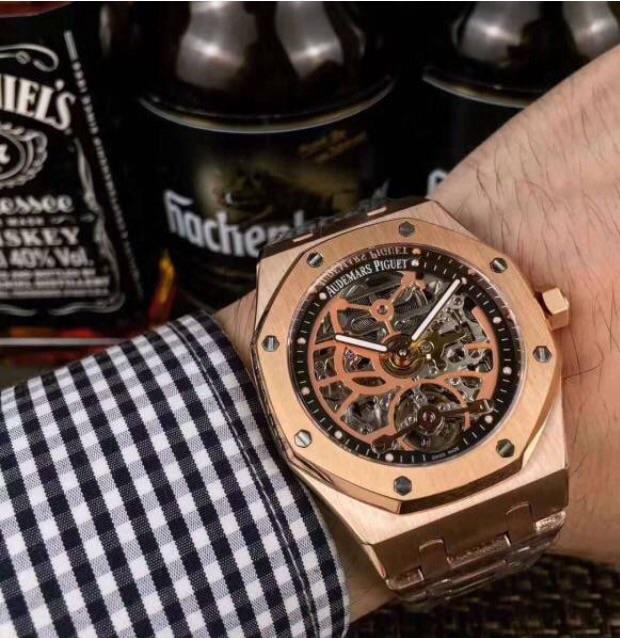 新品 メンズウォッチ AUDEMARS PIGUET オーデマピゲ 自動巻き 腕時計