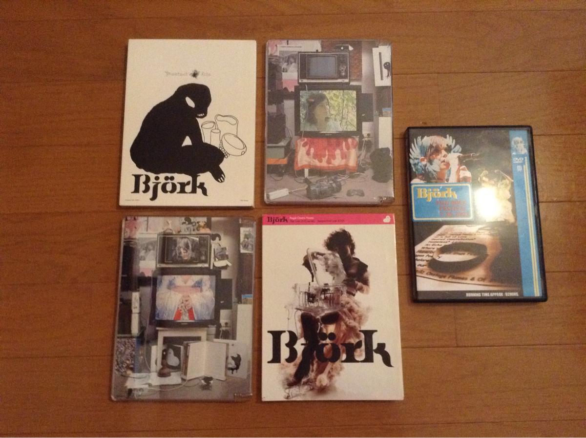 bjorkビョークライブDVDなどセット5枚 ライブグッズの画像